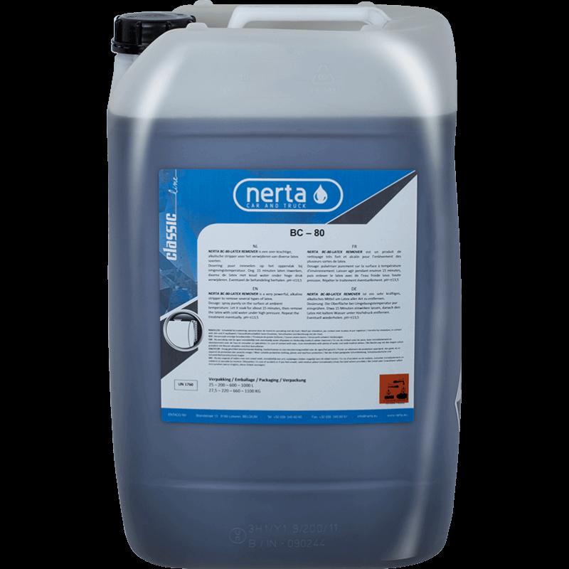 Šarminė priemonė latekso šalinimui BC-80 NERTA Latex Remover