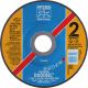 Pjovimo ir šlifavimo diskas PFERD E125-2.8 A46 P PSF-INOX-DUO