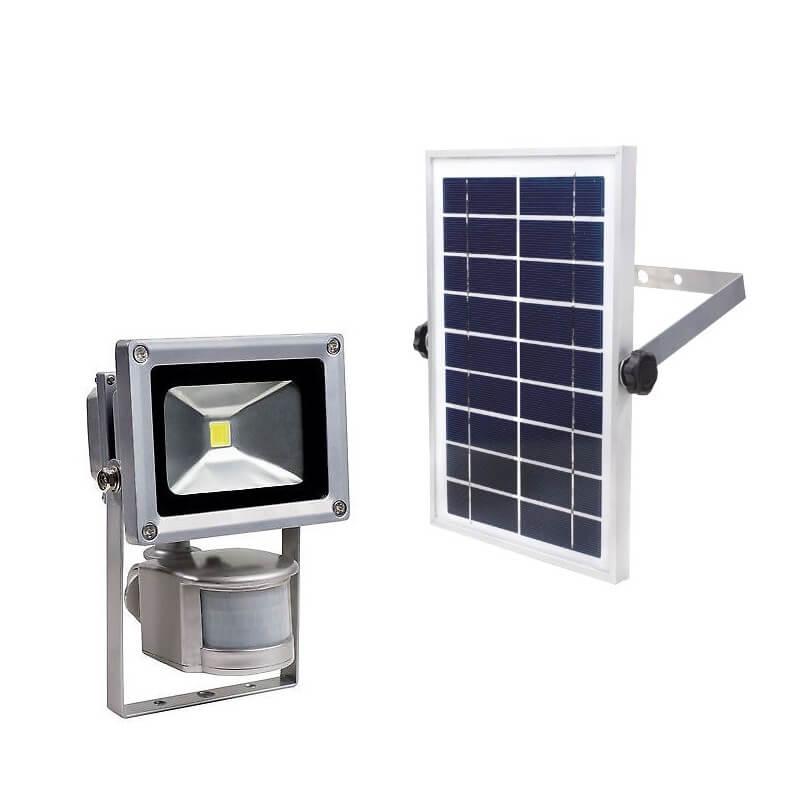 Šviestuvas su saulės baterija AS-SCHWABE LED 10W