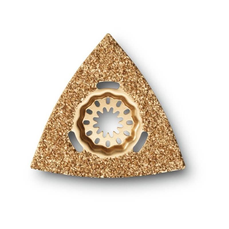 Trikampė lėkštelė dengta karbidu FEIN