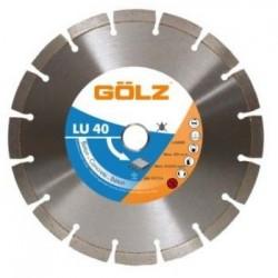 Deimantinis diskas betonui GOLZ LU40 150x22.2mm