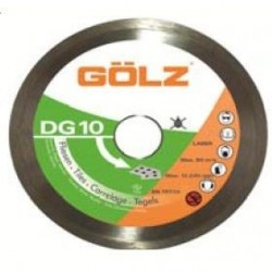 Deimantinis diskas keramikai GOLZ DG10