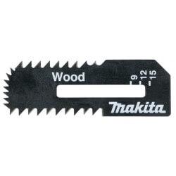 Pjūkleliai medžio plokštei MAKITA 55x18x0,55 mm, 2vnt.