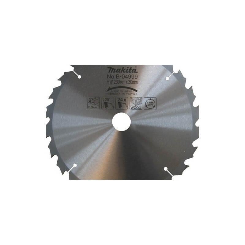 Pjovimo diskas 260*30 24Z MAKITA