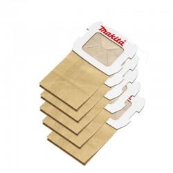 Popieriniai dulkių maišai (5Vnt.) MAKITA BO4555, 4556, 4565, 5031