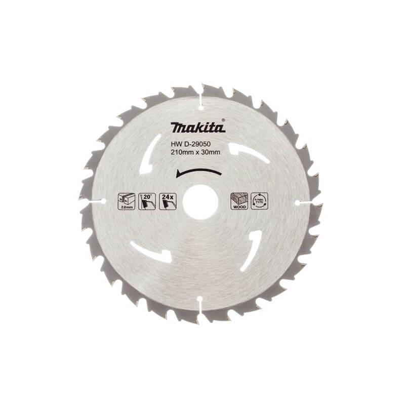 Pjovimo diskas 210x30x2,0 mm MAKITA 24T