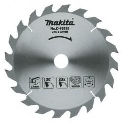 Medžio pjovimo diskas MAKITA 235x30/25x2,4mm 20T