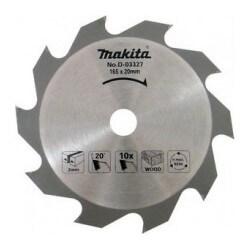 Medžio pjovimo diskas MAKITA 165x20x2,0mm