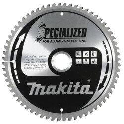 Aliuminio pjovimo diskas MAKITA 216x30x2,2mm 64T -5°