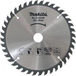 Medžio pjovimo diskas MAKITA 165x20x2,0mm 40T 18° 5603R 5604R
