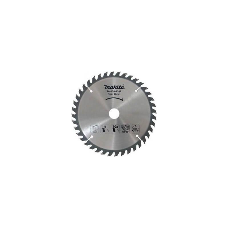 Pjovimo diskas 3 vnt. MAKITA 165x20mm (16T+24T+40T)