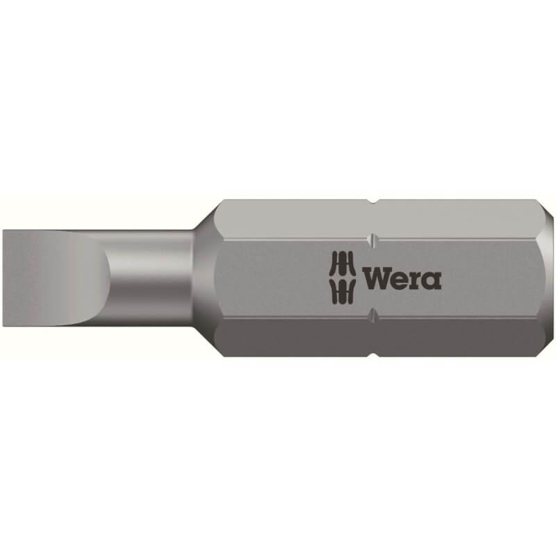 Plokščias atsuktuvo antgalis WERA 800/1Z
