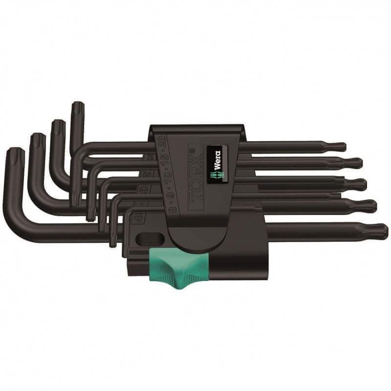 TORX raktų rinkinys 967 PKL/9 WERA