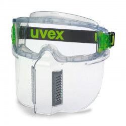 Apsauginis skydelis veidui prie akinių UVEX