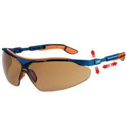 Plastikiniai apsauginiai akiniai UVEX i-vo