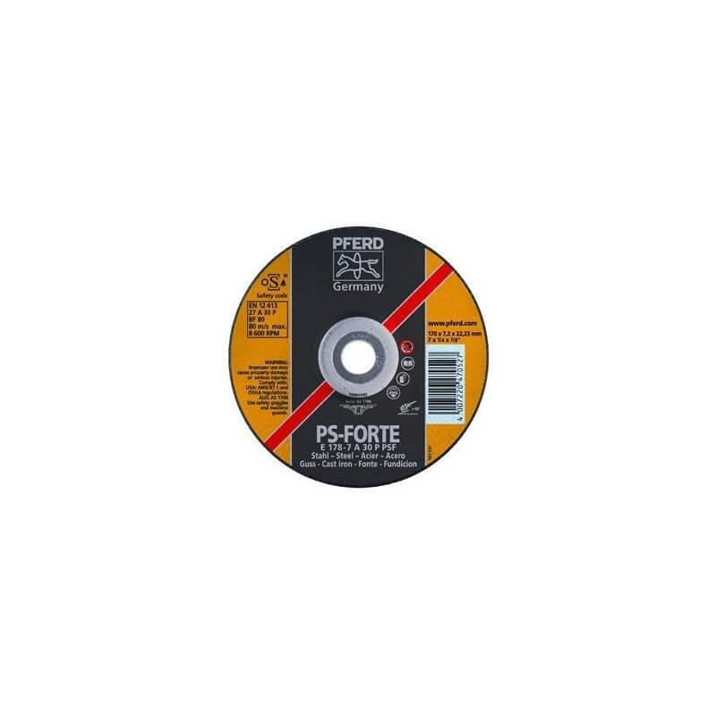 Plieno šlifavimo diskas PSF PFERD