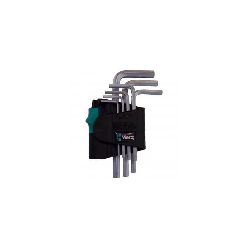 Šešiakampių raktų rinkinys 950/7 SM N WERA