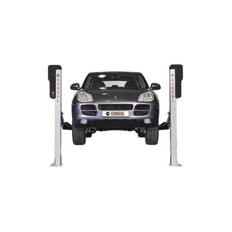 Dviejų kolonų elektro-mechaninis keltuvas CONSUL 2.35 Premium