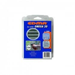 Vielos rišimo kabės EDMA Omega 20, 1000vnt.