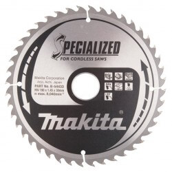 Pjovimo diskas medžiui MAKITA 190x30x1,45mm 44T 23°