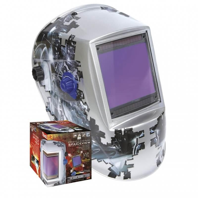 Suvirinimo kaukė GYS LCD Spaceview 5-9/9-13