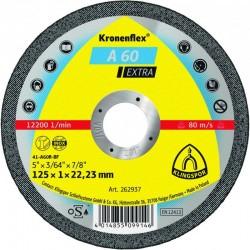 Metalo pjovimo diskas KLINGSPOR A60 Extra Ø125x1mm