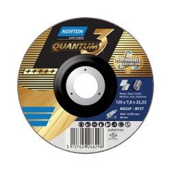 Šlifavimo diskas SAINT-GOBAIN Nor-Quantum3 NQ24P-BF27