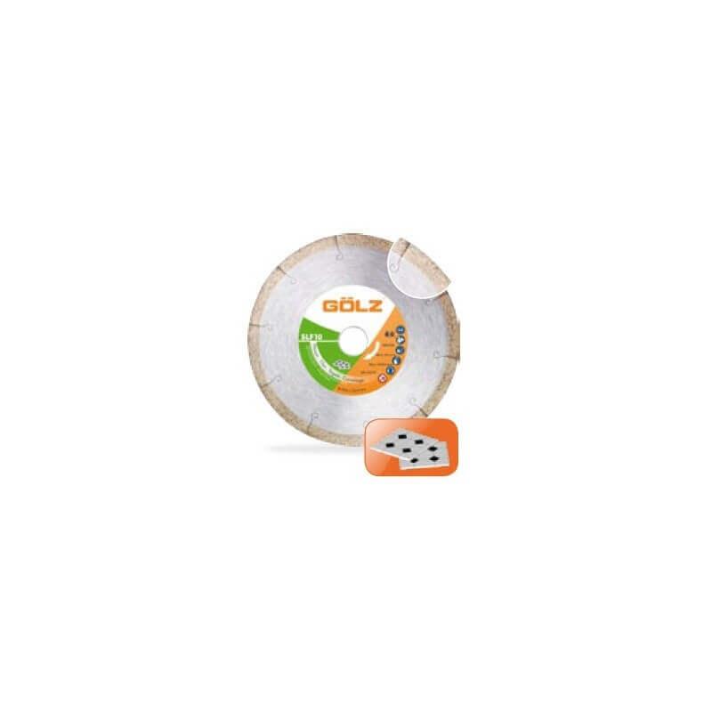 Deimantinis diskas keramikai GOLZ SlimFast 10, Ø250x25,4 mm