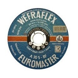 Metalo pjovimo diskas WEFRA 125x2,0mm A30 S