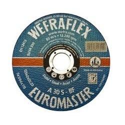 Metalo pjovimo diskas WEFRA 178x2,0mm A30 S