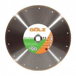 Deimantinis diskas keramikai GOLZ SlimFast Ø180x25,4mm