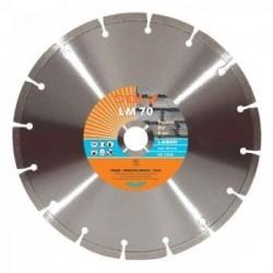 Deimantinis diskas abrazyvams GOLZ LM70 Ø125x22,2mm
