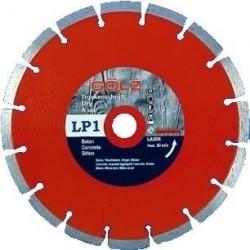 Deimantinis diskas betonui GOLZ LP1 Ø300x25,4mm