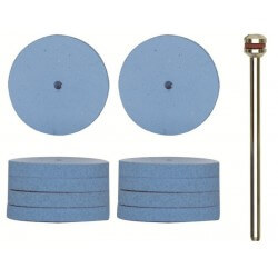 Elastiniai poliravimo diskeliai Ø22mm(10vnt.)PROXXON