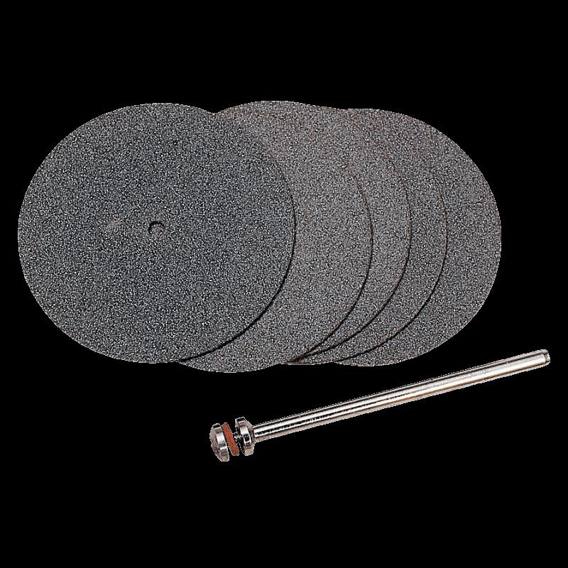 Pjovimo diskeliai, su laikikliu Ø38mm(5vnt.) PROXXON