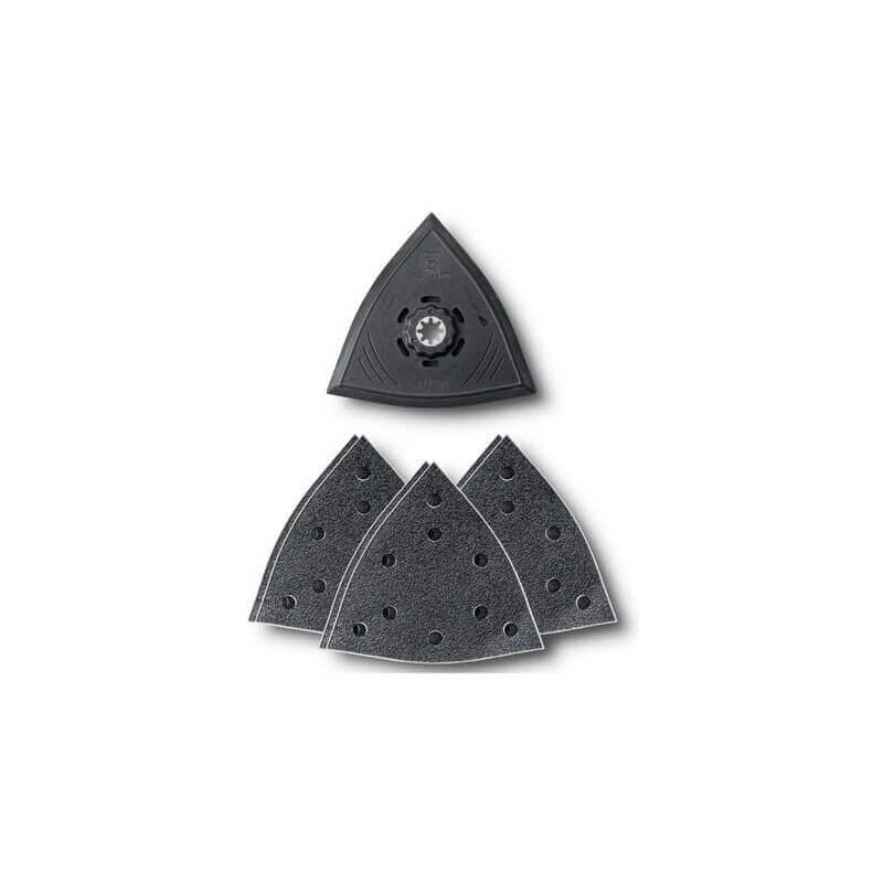 Trikampių perforuotų padų rinkinys FEIN (7vnt.)