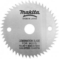 Pjovimo diskas medžiui MAKITA 85x15x0,5mm 50T