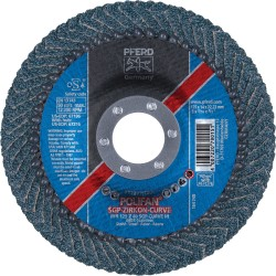 Šlifavimo diskas PFERD PFR 150 Z40 SGP-CURVE M