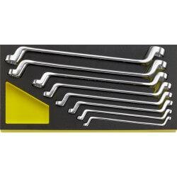 Dvikilpių veržliarakčių rinkinys STAHLWILLE Nr.20 TCS 6x7-19x22mm