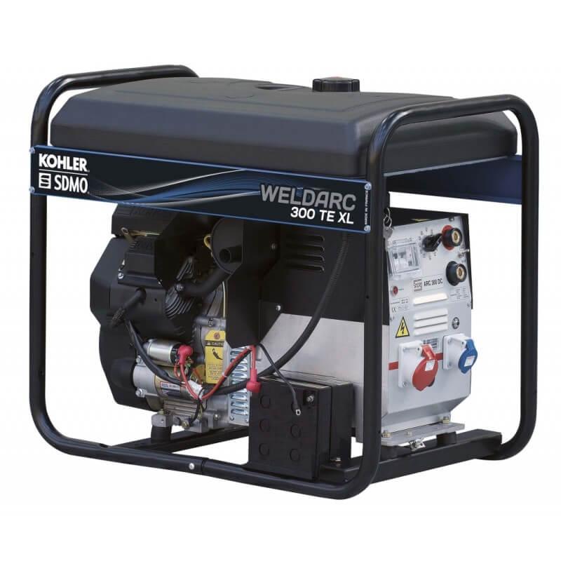 Nuolatinės srovės suvirinimo generatorius SDMO WELDARC 300TE