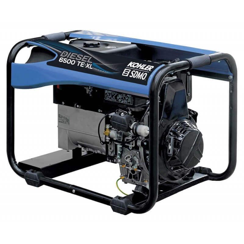 Elektros generatorius SDMO Diesel 6500 TE