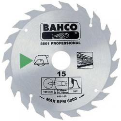 Medžio pjovimo diskas BAHCO 8501-13, Ø184mm