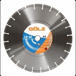 Deimantinis diskas betonui GOLZ LB40 400x25,4mm