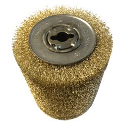 Plieninis variuotos vielos šepetys OSBORN D100x120/12,7