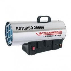 Dujinis šildytuvas 34kW ROTHENBERGER Roturbo 35000