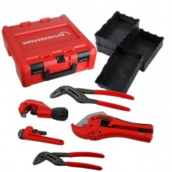 Rankinių įrankių rinkinys ROTHENBERGER ROCASE dėžėje