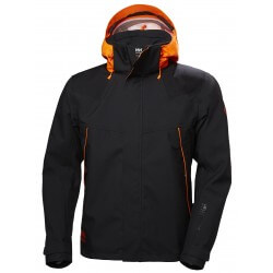 Striukė HELLY HANSEN Chelsea Evolution Shell (juoda/oranž.)