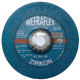 Šlifavimo diskas WEFRA SR-AZ30S 178x7x22,23mm