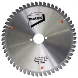 Pjovimo diskas MAKITA 210x30x2,8mm 54T -5° ALU