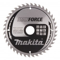 Pjovimo diskas MAKITA 190x30x2,2mm 40T 20°